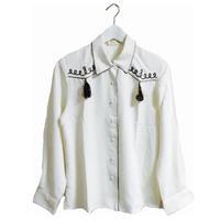 cord fringe shirt