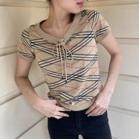 Burberry summer knit tops (No.3936)