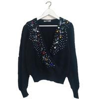 colorful bijou span knit