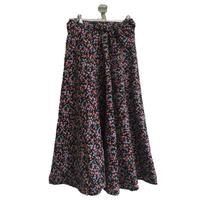 rolling flower skirt