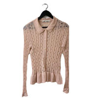 Miss chloé see-through cardigan(No.3043)