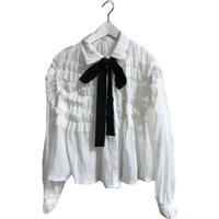 frill chiffon blouse