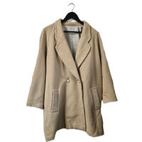 【スペシャルプライス】antique botton wool coat milktea beige