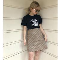 Burberry design check skirt(No.A1)