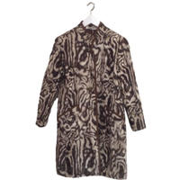 design fur gown coat
