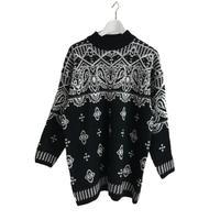 pearl design monotone  knit