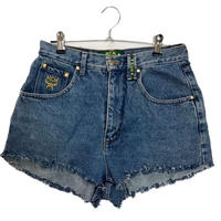 MCM cut off denim short pants