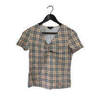 Burberry v neck design tee