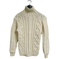 cable design vintage knit