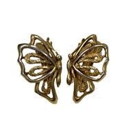 butterfly motif vintag earring(No.4332)