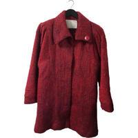【スペシャルプライス】wool knit coat dark red