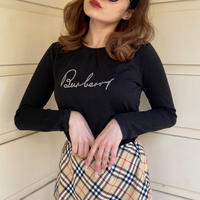 burberry logo tops black(No.4309)