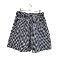 gingham check shirt pants
