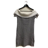 courrèges check design logo one-piece(No.3188)