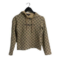 Burberry logo check sweat