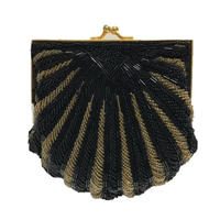 black gold design bijou bag