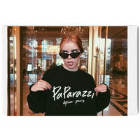 paparazzi sweat black