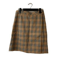 Burberry check design wrap skirt(No.3868