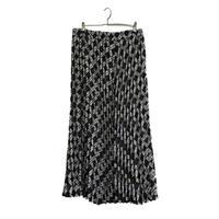 check design pleats skirt