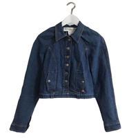 DIOR tuck design denim jacket