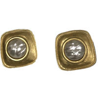 gold pearl vintage earring(No.3823)