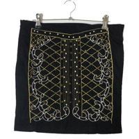 quilting bijou mini skirt