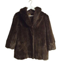 design fur coat blown