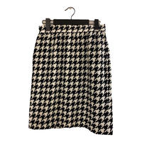 GIVENCHY houndstooth check design skirt (No.3925)