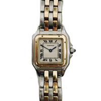 Cartier gold×silver chain Watch