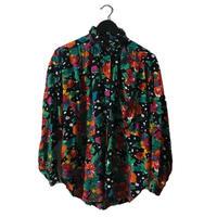flower dot design shirt