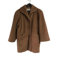 Dior wool coat camel