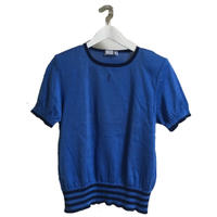Yves Saint Laurent summer knit blue
