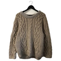 cable knit mocha