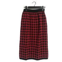 【スペシャルプライス】knit check skirt