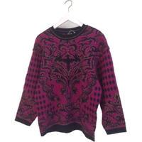 design knit purple