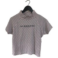 Burberry London check design tops pink