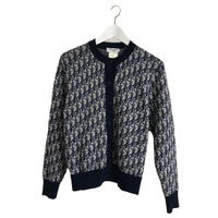 Dior trotter design knit cardigan