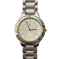 Yves Saint Laurent gold×silver Watch