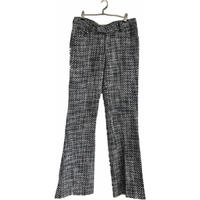 tweed  bell pants