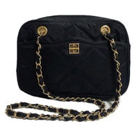 GIVENCHY quilting logo chain bag