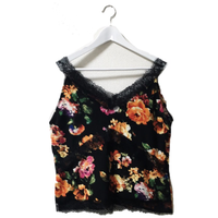 flower lace camisole