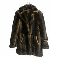 antique design fur coat