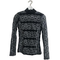 monotone lace tops