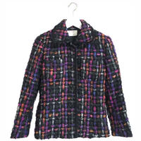 tweed jacket pink