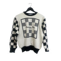 Dior monotone design knit