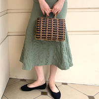 vintage basket bag(No.4448)