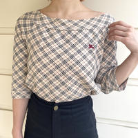 Burberry check sweat tops(No.3092)