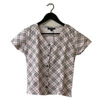 Burberry check button design tops(No.3106)