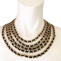 five chain necklace