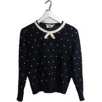 dot pearl knit